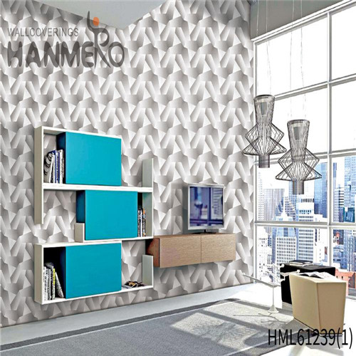 HANMERO PVC Professional Bamboo Flocking Theatres Chinese Style 0.53*10M images for wallpaper