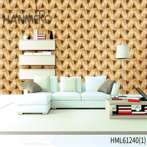 HANMERO Chinese Style Professional Bamboo Flocking PVC Theatres 0.53*10M wallpaper of home