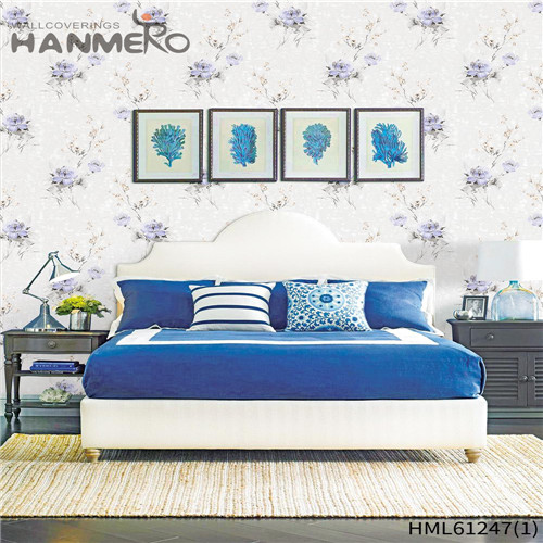 HANMERO PVC Flocking Bamboo Professional Chinese Style Theatres 0.53*10M wallpapers for walls at home