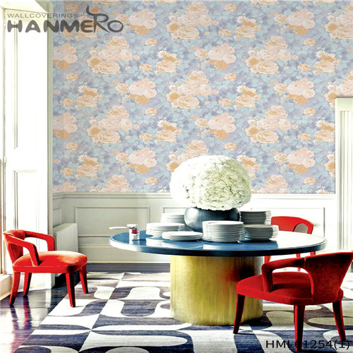 HANMERO 0.53*10M buy bathroom wallpaper Bamboo Flocking Chinese Style Theatres Professional PVC