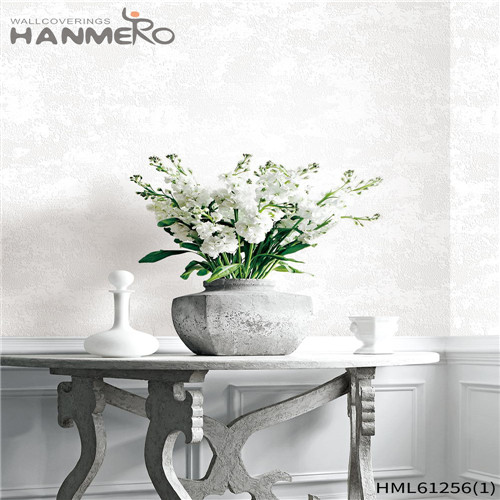 HANMERO Professional 0.53*10M buy bedroom wallpaper Flocking Chinese Style Theatres PVC Bamboo