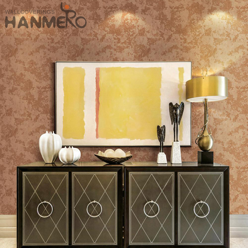 HANMERO European Fancy Landscape Flocking Non-woven Photo studio 0.53*10M decorate wall with paper