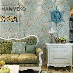 HANMERO Non-woven New Style Bamboo Bronzing European Photo studio 0.53*10M decorative wallpaper