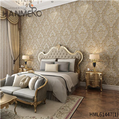 HANMERO Non-woven New Style Bamboo wallpaper for room European Photo studio 0.53*10M Bronzing