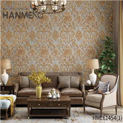 HANMERO Non-woven New Style Bamboo Bronzing European Photo studio designer bedroom wallpaper 0.53*10M