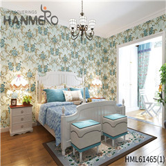 HANMERO Non-woven 0.53*10M Bamboo Bronzing European Photo studio New Style bedroom design wallpaper