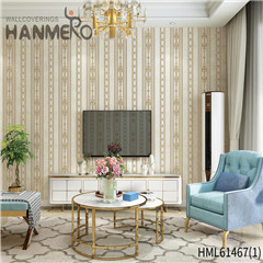 HANMERO Non-woven New Style 0.53*10M Bronzing European Photo studio Bamboo home decor with wallpaper