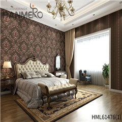 HANMERO Non-woven New Style Bamboo Bronzing 0.53*10M Photo studio European shop wallpaper designs