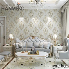 HANMERO Photo studio New Style Bamboo Bronzing European Non-woven 0.53*10M black wallpaper design