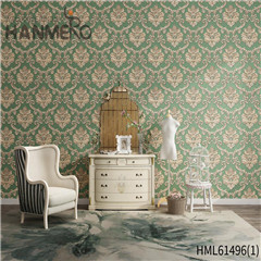 HANMERO Non-woven Photo studio Bamboo Bronzing European New Style 0.53*10M wallpaper design house