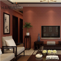 HANMERO home wallpaper designs Affordable Geometric Flocking Modern Home 0.53*10M Non-woven
