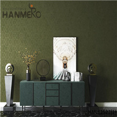HANMERO Non-woven Affordable Geometric Flocking Modern Home wallpaper decorating 0.53*10M