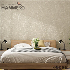 HANMERO Non-woven Affordable Geometric Flocking Home Modern 0.53*10M wallpaper for the wall