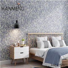 HANMERO Modern Affordable Geometric Flocking Non-woven Home 0.53*10M wallpaper shopping online