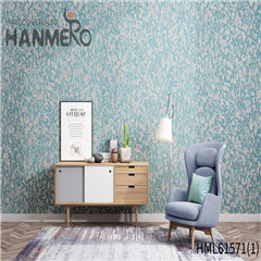 HANMERO Non-woven Modern Geometric Flocking Affordable Home 0.53*10M wallpaper brands