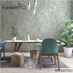 HANMERO Non-woven Affordable Geometric Modern Flocking Home 0.53*10M interior home wallpaper