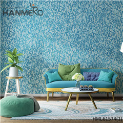 HANMERO Flocking Affordable Geometric Non-woven Modern Home 0.53*10M wall covering stores