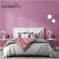 HANMERO Non-woven Geometric Affordable Flocking Modern Home 0.53*10M rooms with wallpaper
