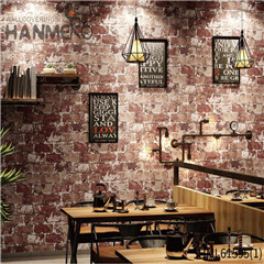 HANMERO PVC Photo Quality Stone home interior wallpaper Chinese Style Saloon 0.53*10M Deep Embossed