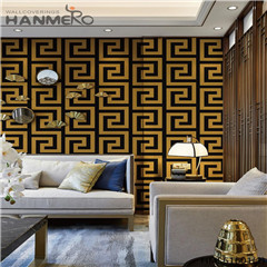 HANMERO PVC Photo Quality Stone Deep Embossed wallpaper discount Saloon 0.53*10M Chinese Style