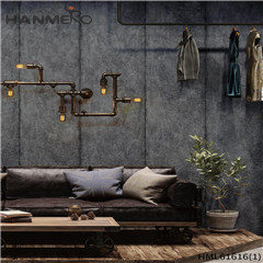 HANMERO PVC Photo Quality 0.53*10M Deep Embossed Chinese Style Saloon Stone water wallpaper for walls