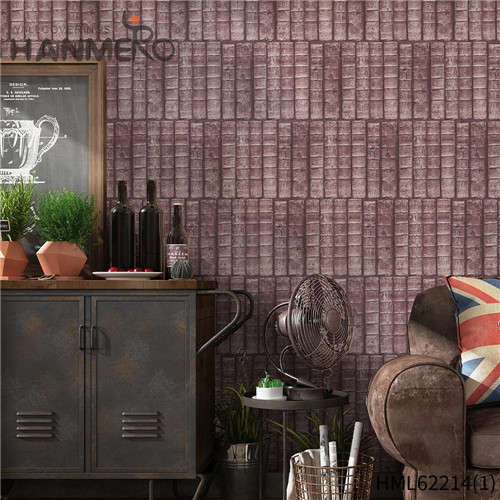 HANMERO PVC Seamless Bamboo Home Wall Kids Deep Embossed 0.53*10M wallpaper discount