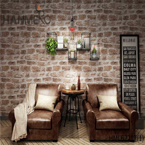 HANMERO PVC Kids Bamboo Deep Embossed Seamless Home Wall 0.53*10M wallpapers for home interiors