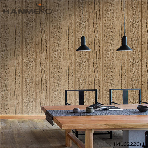 HANMERO Deep Embossed Seamless Bamboo PVC Kids Home Wall 0.53*10M modern wallpaper for home