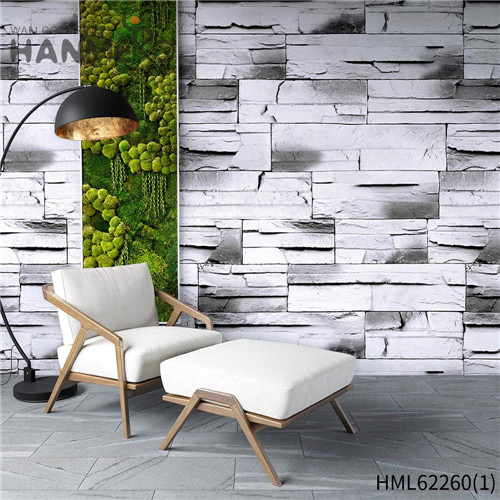 HANMERO Bamboo Deep Embossed Seamless PVC Kids Home Wall 0.53*10M decorative wallpaper for bedroom