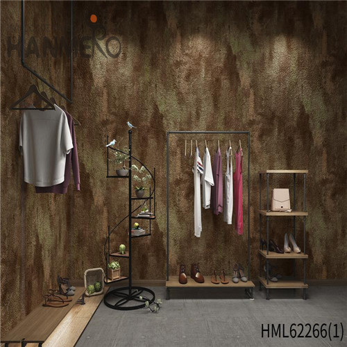 HANMERO paper decoration for wall Seamless Bamboo Deep Embossed Kids Home Wall 0.53*10M PVC