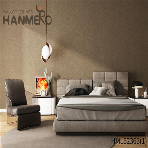 HANMERO 0.53*10M Hot Sex Flowers Flocking Classic Sofa background Non-woven vinyl wallpaper