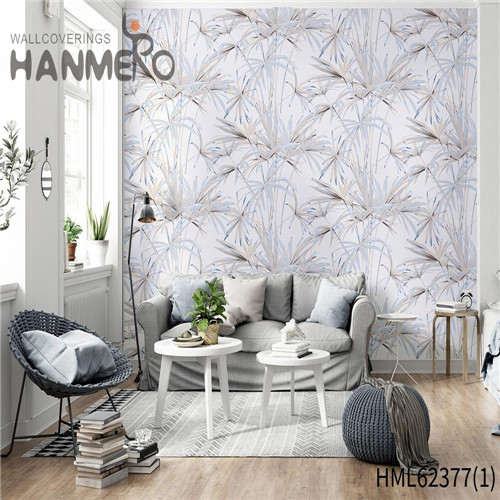 HANMERO Classic Hot Sex Flowers Flocking Non-woven Sofa background 0.53*10M best wallpapers for home walls
