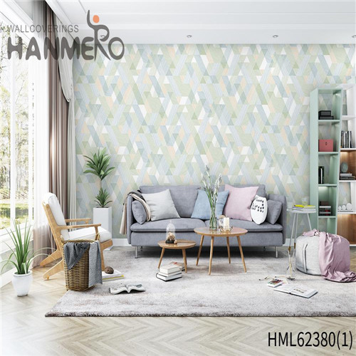 HANMERO Non-woven Hot Sex Flowers Classic Flocking Sofa background 0.53*10M designer wallpaper for home