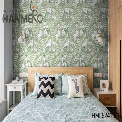 HANMERO home furnishing wallpaper Hot Sex Flowers Flocking Classic Sofa background 0.53*10M Non-woven