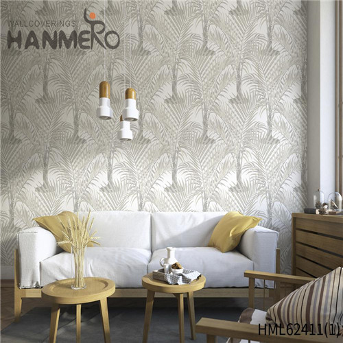 HANMERO house design wallpaper Hot Sex Flowers Flocking Classic Sofa background 0.53*10M Non-woven