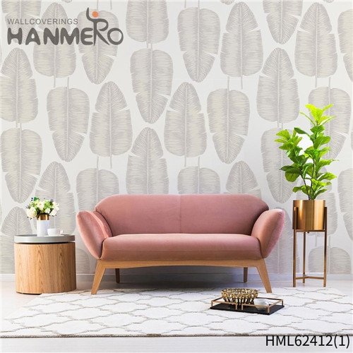 HANMERO wallpaper design home decoration Hot Sex Flowers Flocking Classic Sofa background 0.53*10M Non-woven