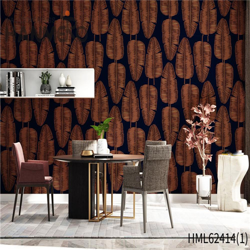 HANMERO wallpaper for home wall price Hot Sex Flowers Flocking Classic Sofa background 0.53*10M Non-woven