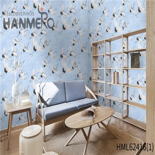 HANMERO buy bedroom wallpaper Hot Sex Flowers Flocking Classic Sofa background 0.53*10M Non-woven