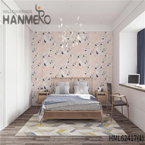 HANMERO wallpaper for walls room Hot Sex Flowers Flocking Classic Sofa background 0.53*10M Non-woven