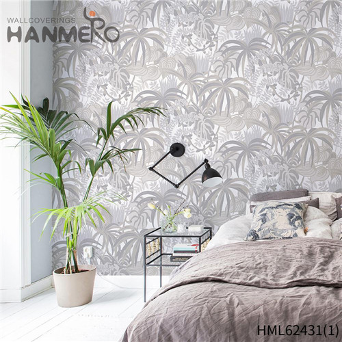 HANMERO border wall paper Hot Sex Flowers Flocking Classic Sofa background 0.53*10M Non-woven