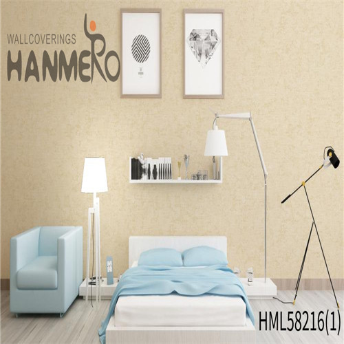 HANMERO PVC Professional Supplier home interior wallpaper Flocking Modern Church 0.53*10M Flowers