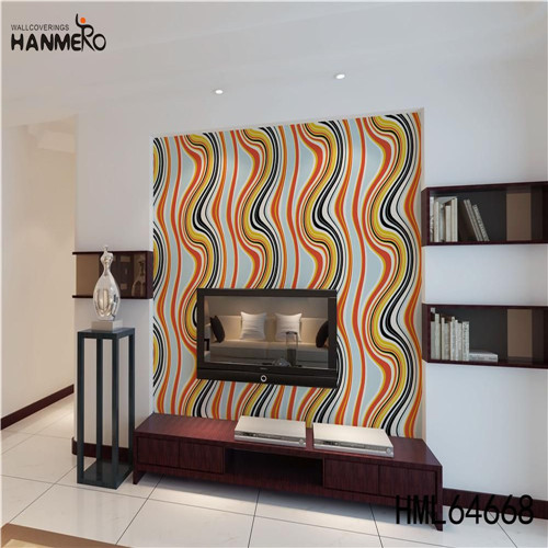 HANMERO SGS.CE Certificate PVC European Photo studio 0.53M wallpapers for the walls of house Geometric Technology