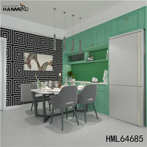 HANMERO designs of wallpapers for bedrooms SGS.CE Certificate Geometric Technology European Photo studio 0.53M PVC