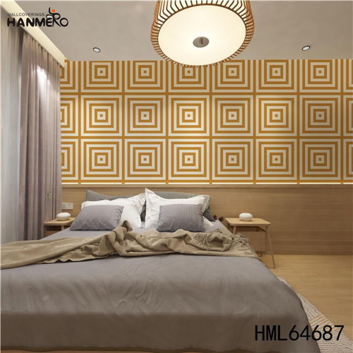 HANMERO wallpaper for a room SGS.CE Certificate Geometric Technology European Photo studio 0.53M PVC
