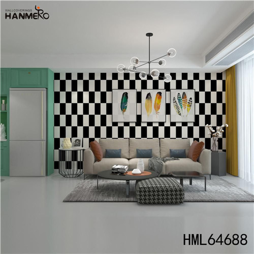 HANMERO wall decorative papers SGS.CE Certificate Geometric Technology European Photo studio 0.53M PVC