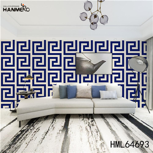 HANMERO wallpapers for home online SGS.CE Certificate Geometric Technology European Photo studio 0.53M PVC