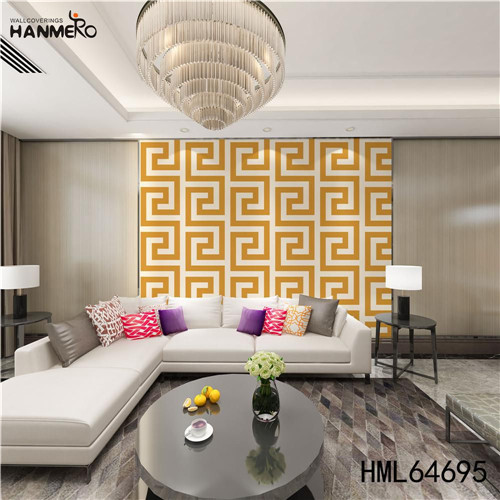 HANMERO wallpaper for your bedroom SGS.CE Certificate Geometric Technology European Photo studio 0.53M PVC