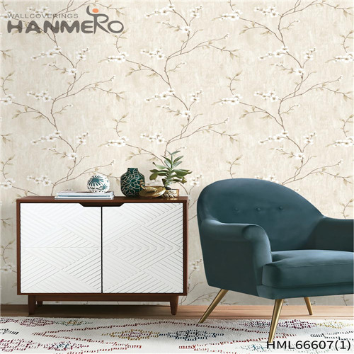 HANMERO Non-woven Awesome Landscape Technology Pastoral unique wallpaper for walls 0.53*10M Children Room