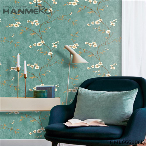 HANMERO Non-woven 0.53*10M Landscape Technology Pastoral Children Room Awesome best wallpapers for home walls