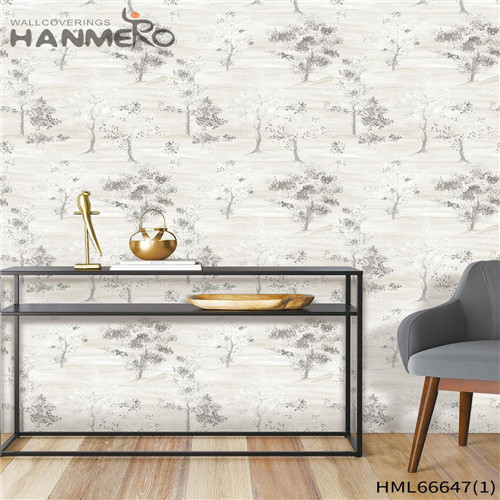 HANMERO Non-woven Pastoral Landscape Technology Awesome Children Room 0.53*10M animated wallpaper